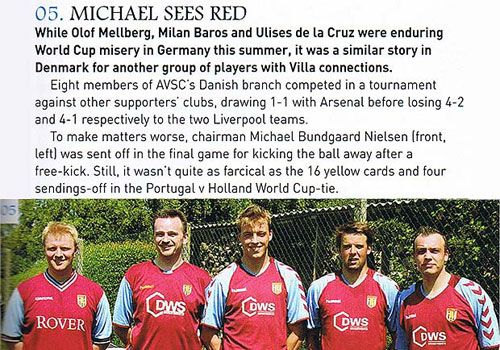 Aston Villa News & Record
